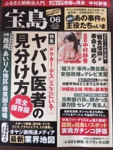 月刊宝島15年6月号