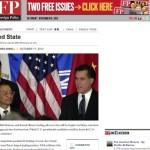 オバマ再選は中国と「日本の革新勢力」を追いつめる